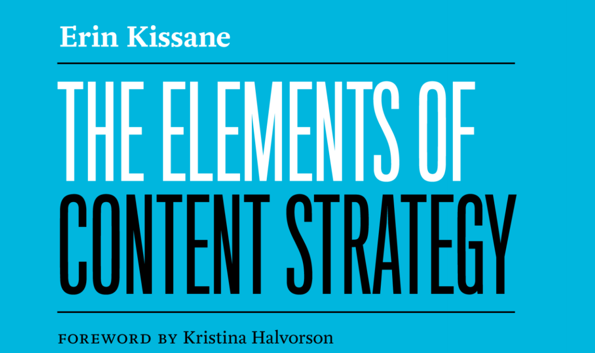 Elemente einer Content Strategie